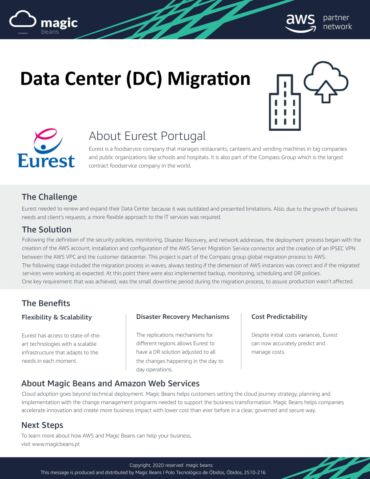Case Study Eurest (ENG) - DC Migration website