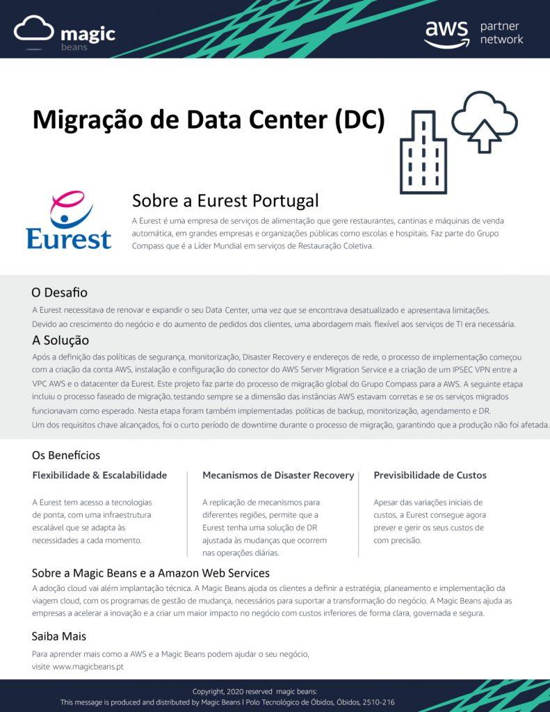 Case Study Eurest (PT) - DC Migration Website